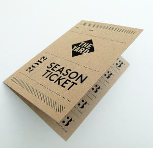 Cairn EcoKraft 280 g/m2 in letterpress