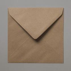 155x155 vierkante kraft envelop